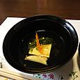 柚子豆腐のお吸い物