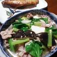 八宝菜風スープ