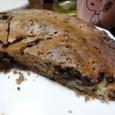 タジン鍋でバナナチョコケーキ